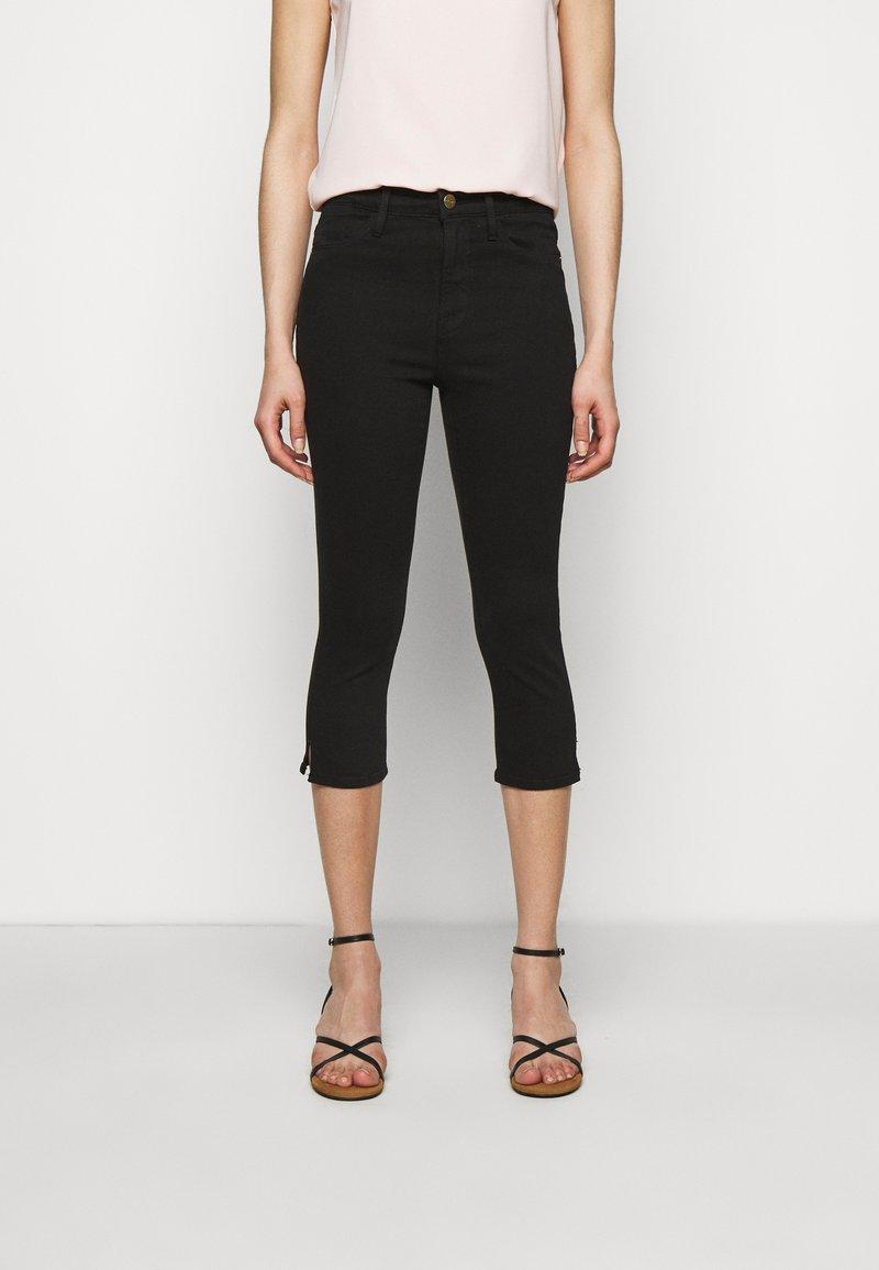 Frame Denim - LE HIGH PEDAL PUSHER - Jeans Skinny - film noir