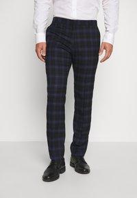 Ben Sherman Tailoring - CHECK SUIT - Completo - dark blue - 4