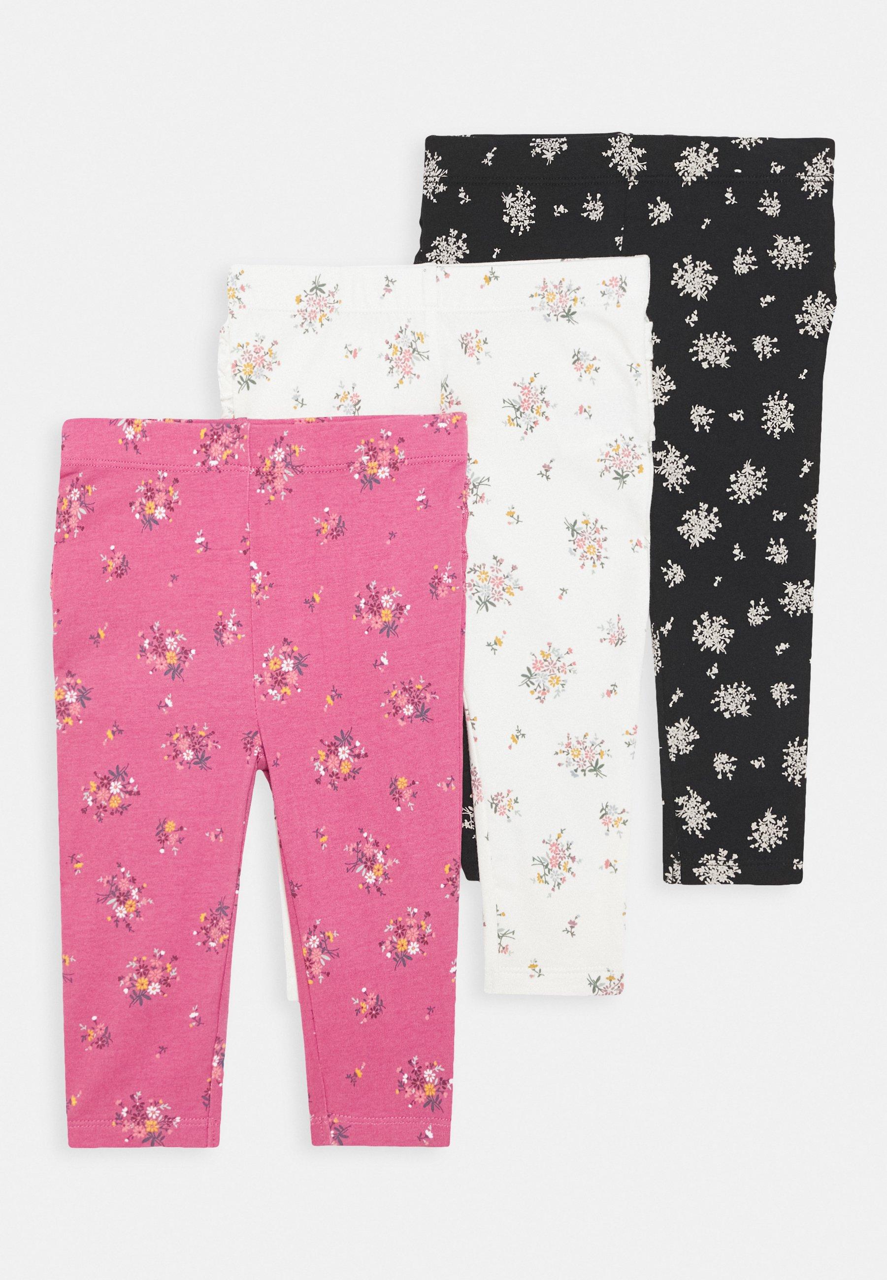 Cotton On Ruffle 3 Pack Leggings Trousers Multicolor Zalando Co Uk