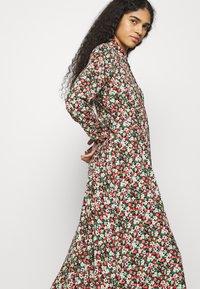 Mavi - PRINTED DRESS - Maxi dress - red flower print - 4