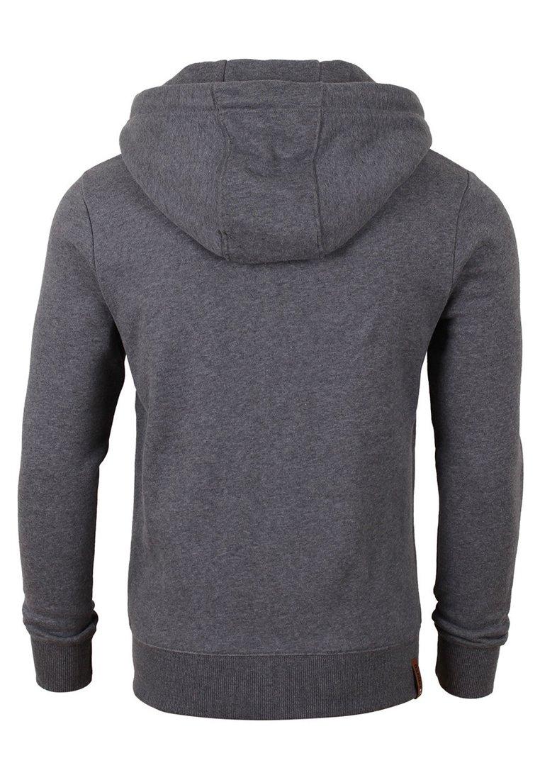 Riverso MIT REISSVERSCHLUSS KAPU - Zip-up hoodie - grey melange