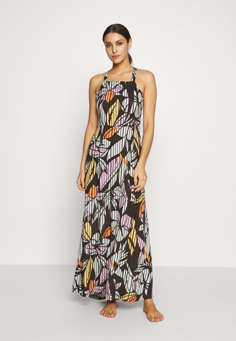 O'Neill - CLARISSE STRAPPY DRESS - Doplňky na pláž - green/white/pink or purple