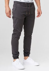 INDICODE JEANS - FIELDS - Trousers - raven - 4