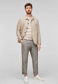 s.Oliver BLACK LABEL - Light jacket - beige melange - 1
