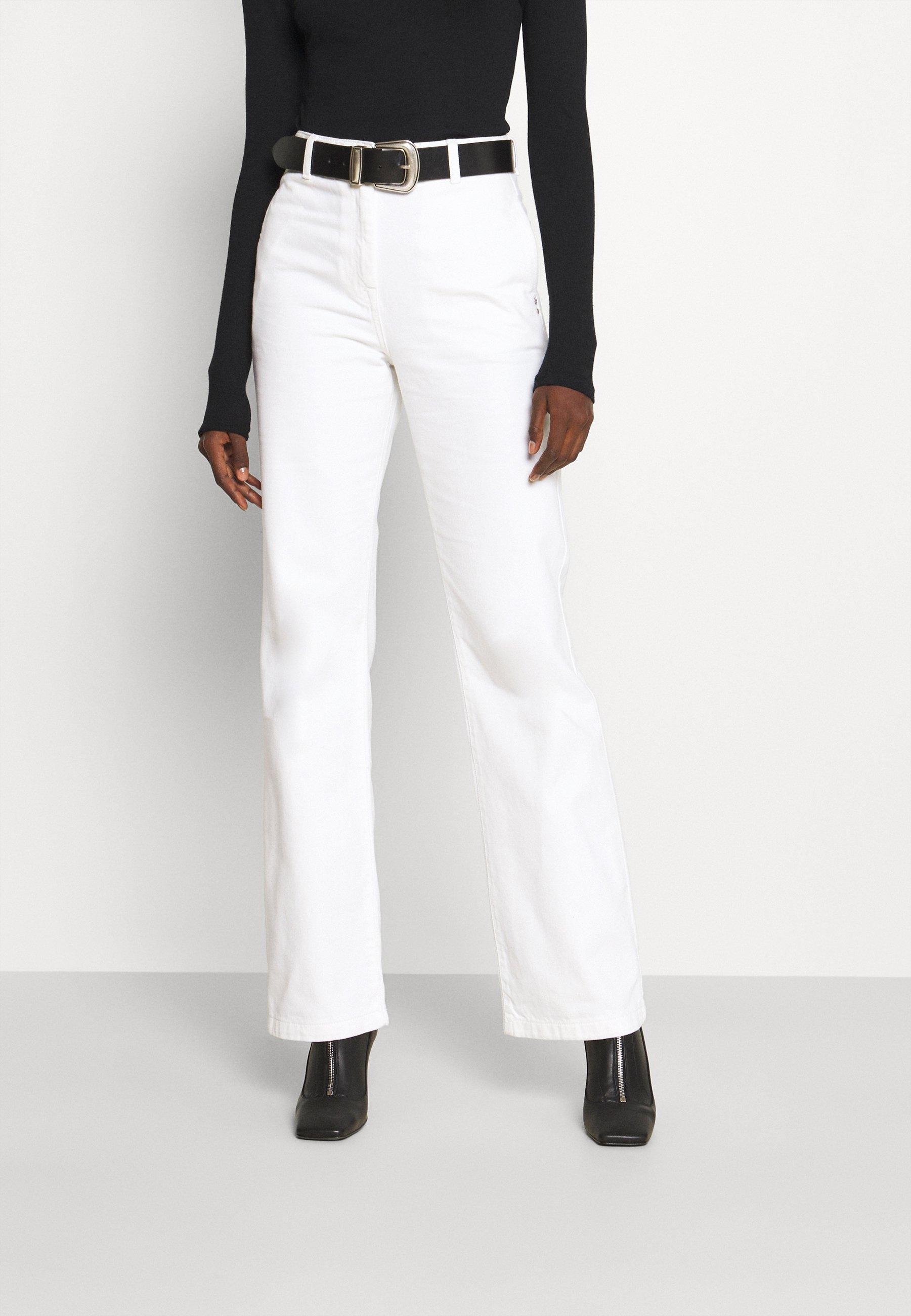 Women PANTALONI TROUSERS - Straight leg jeans