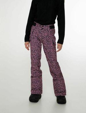 SOFTSHELL CLASSY JR - Zimní kalhoty - berry melee
