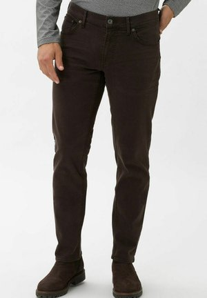 STYLE CHUCK - Slim fit jeans - espresso
