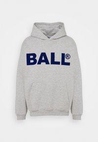 BALL - HAMMER FLOCK - Hoodie - mottled light grey - 5