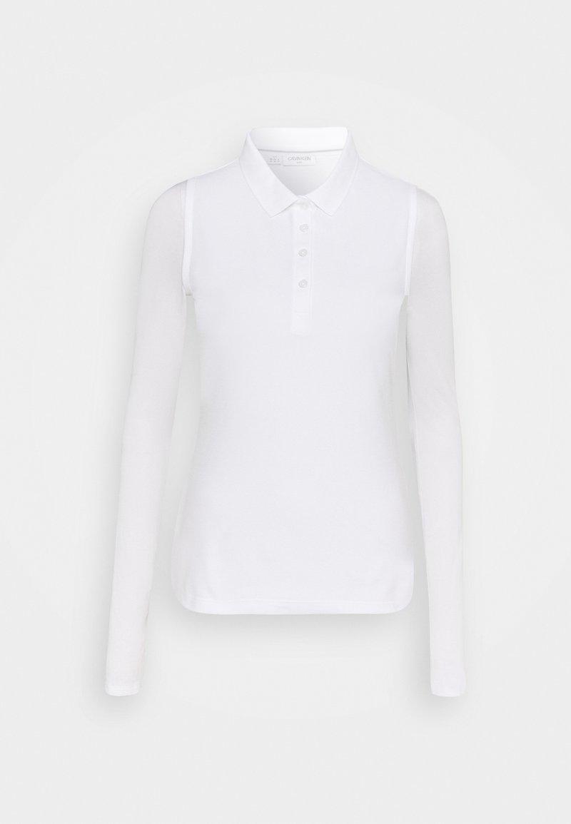 Calvin Klein Golf - SLEEVELESS PERFORMANCE - Polo - white