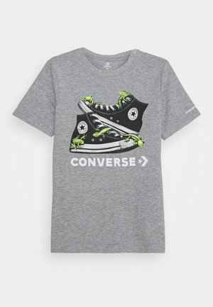 BIO CHUCKS TEE - Print T-shirt - dark grey heather