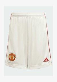 adidas Performance - MANCHESTER UNITED  HEIM - Sports shorts - white - 0
