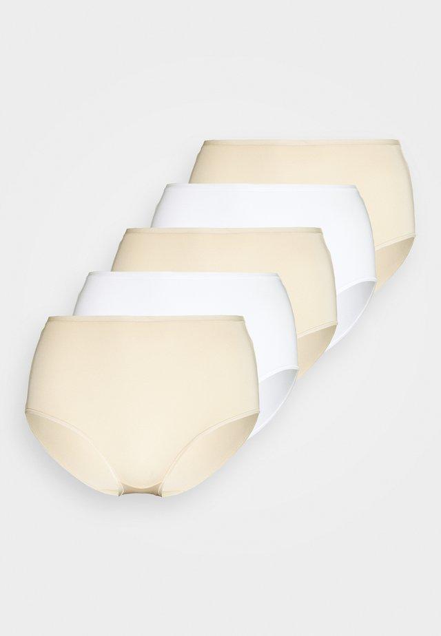5 PACK - Panties - nude mix