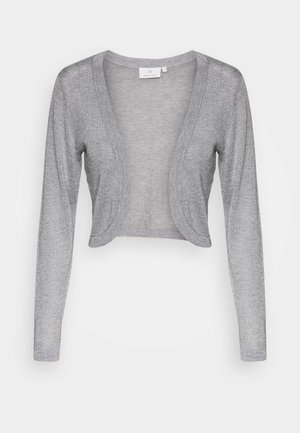 ANKRA BOLERO - Cardigan - light grey/silver