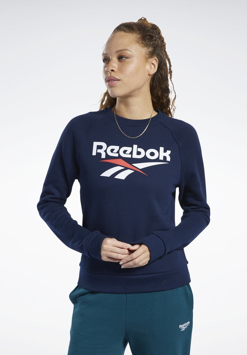 Reebok Classic - CLASSICS VECTOR CREW SWEATSHIRT - Bluza - blue