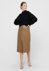 ONLY - Pencil skirt - warm sand - 2