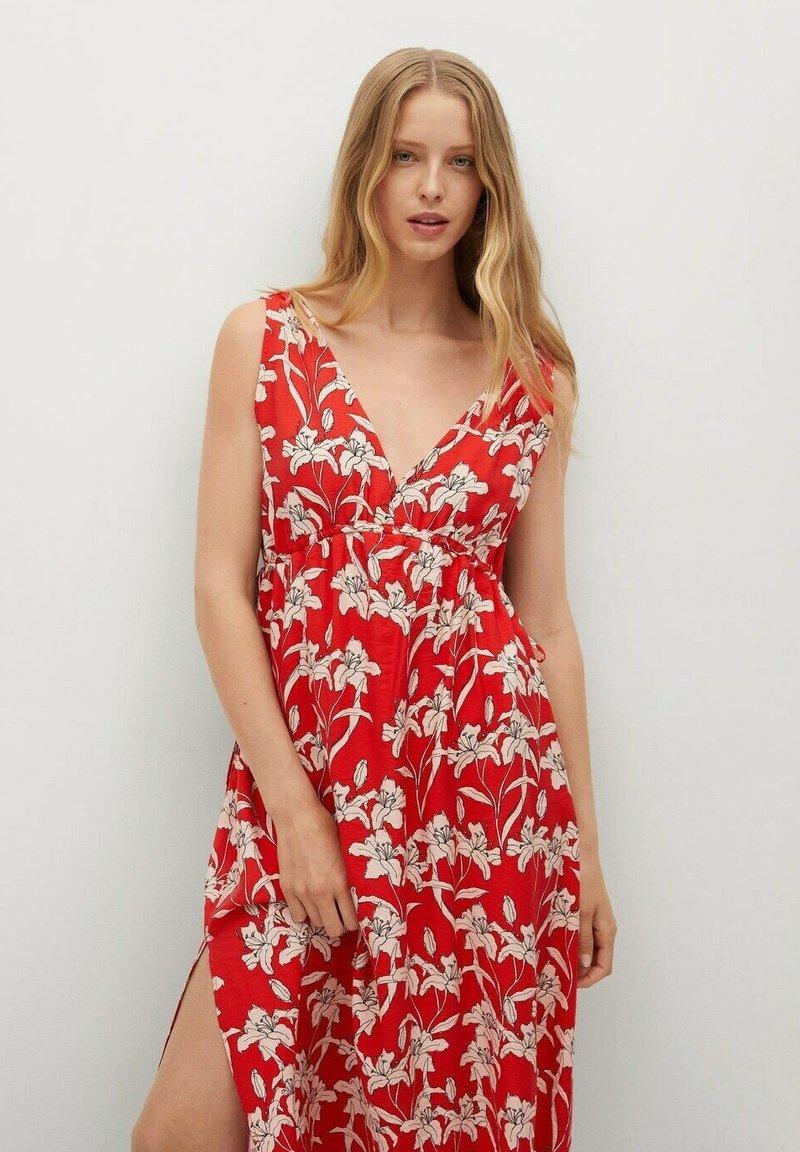 Mango - Day dress - rojo