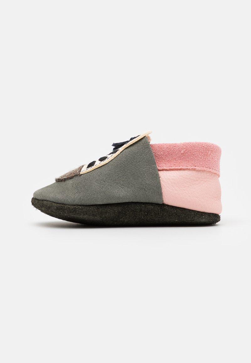 POLOLO - ZEBRA MÄDCHEN - First shoes - grau