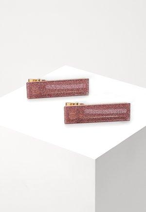 CLEMENTINE CLIPS - Příslušenství kvlasovému stylingu - pink