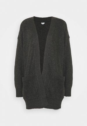 CLASSIC EASY CARDI - Cardigan - charcoal heather