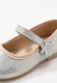 Friboo - Ballerina's met enkelbandjes - light blue - 5