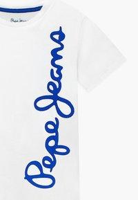 Pepe Jeans - WALDO - Print T-shirt - optic white - 2