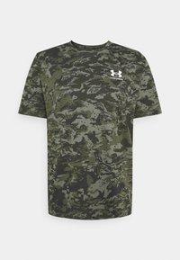 Under Armour - CAMO - Print T-shirt - baroque green - 4