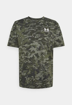 CAMO - Print T-shirt - baroque green