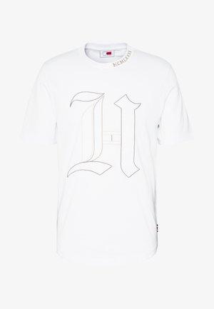 UNISEX LEWIS HAMILTON TEE - Print T-shirt - white