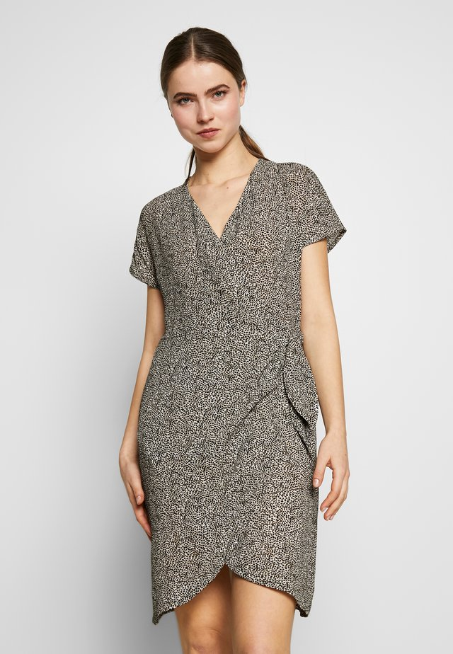 GRETA DRESS - Day dress - black spots