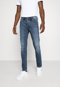 Jack & Jones - JJIGLENN JJORIGINAL - Vaqueros slim fit - blue denim - 0