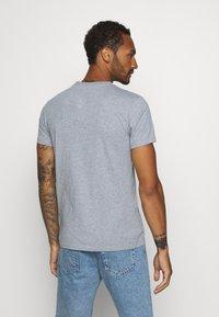 KnowledgeCotton Apparel - ALDER KNOWLEDE TEE - Basic T-shirt - mottled grey - 2