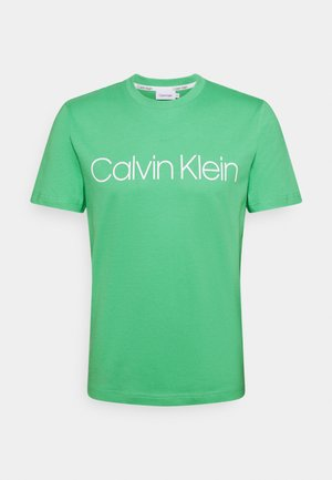 FRONT LOGO - T-shirt con stampa - green