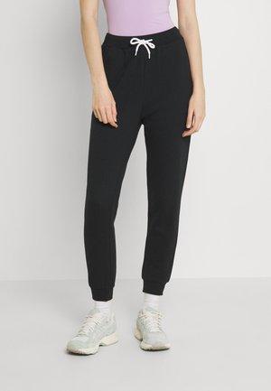 Slim Fit Joggers Contrast Cord - Pantalon de survêtement - black