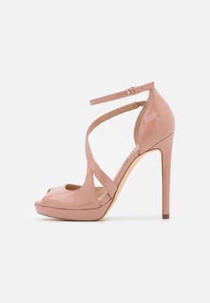 FINNEA - High heeled sandals - natu