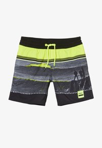 O'Neill - THE POINT - Swimming shorts - black/yellow - 3