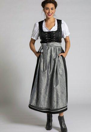 JACQUARDBLÜTEN - Dirndl - schwarz