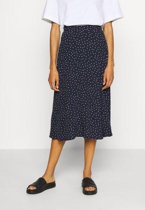 CIRCLE SKIRT - A-line skirt - navy