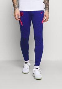 Nike Performance - FC BARCELONA DRY PANT - Klubbkläder - deep royal blue/fusion red - 0