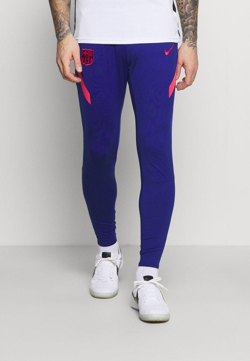 Nike Performance - FC BARCELONA DRY PANT - Klubbkläder - deep royal blue/fusion red