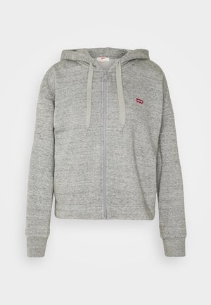 ZIP SKATE HOODIE - Bluza rozpinana - smokestack heather