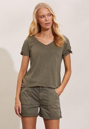 KALEI - Print T-shirt - frigid green
