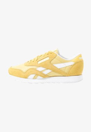 CLASSIC - Trainers - yellow/white