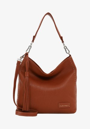 STACY  - Shopping bag - cognac