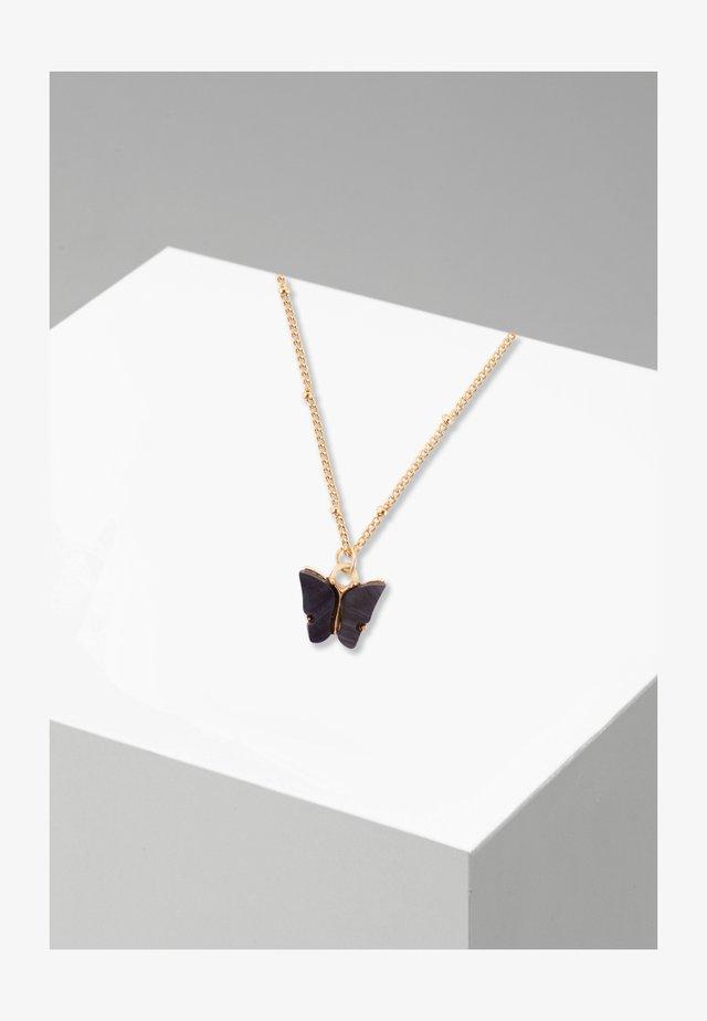 MIT ANHÄNGER PAPILIO  - Necklace - goldfarben