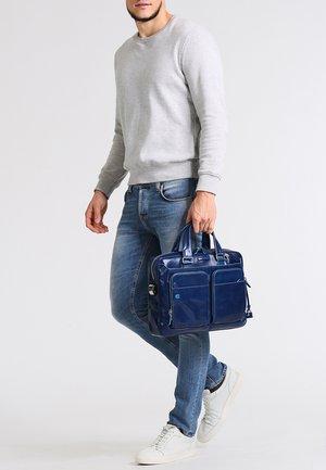 BLUE SQUARE - Briefcase - nachtblau