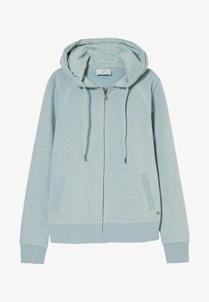 Zip-up hoodie - light blue