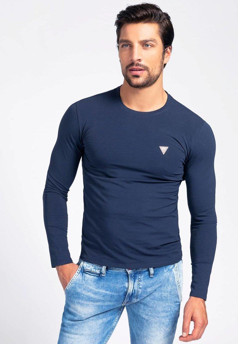 Guess - Long sleeved top - blau
