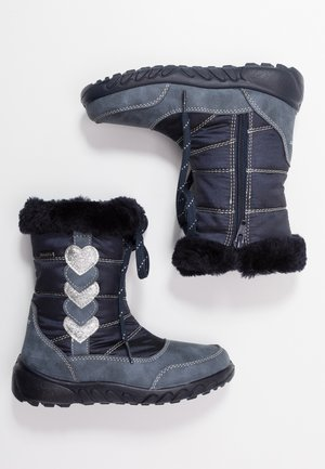 Winter boots - atlantic/silver