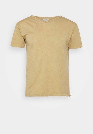 MARCEL TEE - T-shirt basic - dull golden