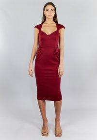 True Violet - Cocktail dress / Party dress - bordeaux - 1